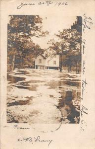 Roper North Carolina Residence on the Water Real Photo Postcard JA4742661