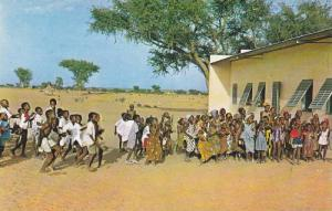 Pupils at new school , Niger , 1960s