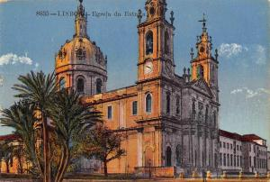 Portugal Lisboa Egreja Church Postcard