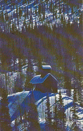 Colorado Winter Shadows On Red Mountain