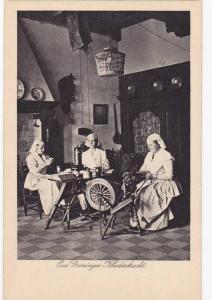 Women Sewing, Oud Groninger Kleederdracht, Netherlands, 1910-1920s