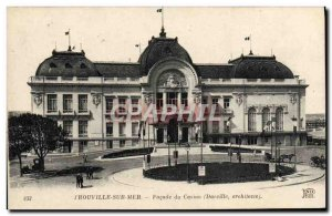 Old Postcard Trouville Sur Mer Facade casino