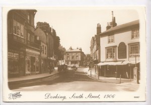 Dorking, South Street, 1906, new reproduction, unused Postcard