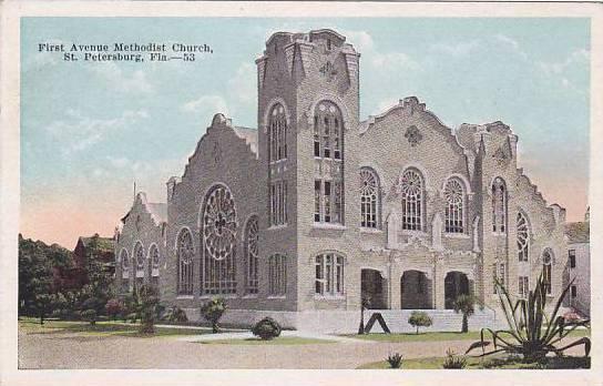 Florida Saint Petersburg First Avenue Methodist Church