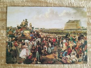 EPSOM DOWNS,1863-AARON GREEN.VTG ART POSTCARD*P12