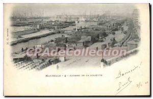 Postcard Old Marseille Basins De La Joliette