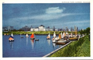 Illinois Chicago Burnham Park Harbor