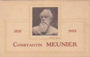Constantin Meunier Belgian Painter and Sculptor