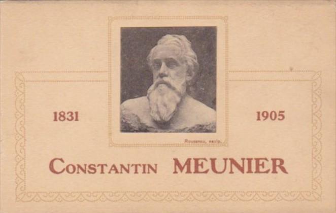 Constantin Meunier Belgian Painter and Sculptor