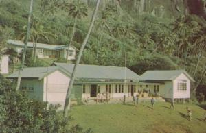 Children Playing at Pitcairn Island School Vintage Postcard
