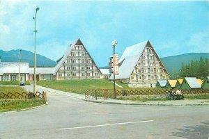 Romania Prahova hanul Cheia tavern inn postcard