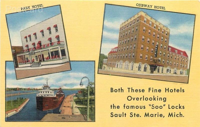 Marie Michigan Park Hotel Ojibway Soo