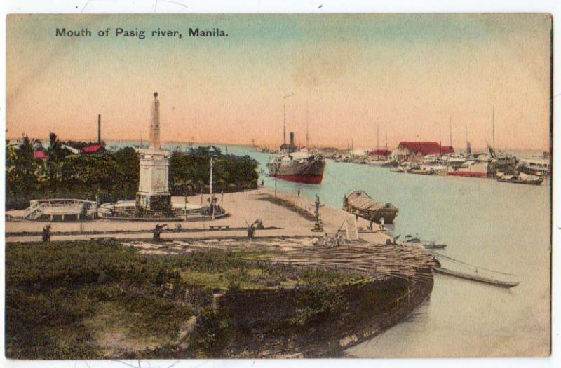 Mouth of Pasig river, Manila