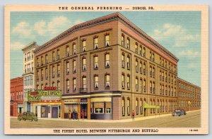 Dubois PA~General Pershing Hotel~Harris Theatre: Loretta Young~1941 ART DECO