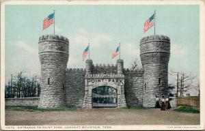 Lookout Mountain TN~Point Park Gate w/Battlement~c1910 Detroit Publishing #11372
