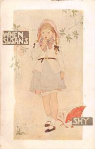Fantasy When Susans' Shy, Girl, Fille 1918