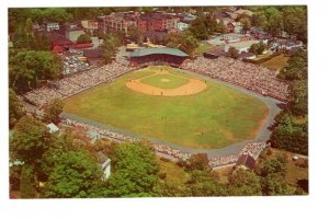 Aerial Doubleday Field, Annual Baseball Hall of Fame Game, Cooperstown, New York