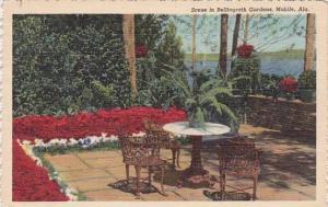 Alabama Mobile Scene In Bellingrath Gardens 1951