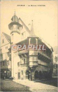 Postcard Old House Colmar Peister