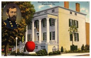 Virgina , Winchester ,Sheriden's Headquarters