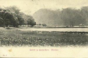 indonesia, MOLUCCAS MALUKU, Banda Neira, Panorama (1899) Postcard