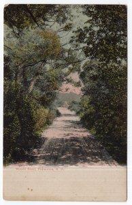 Franconia, N.H., Woods Road