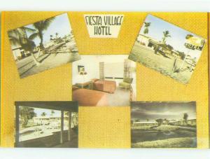 Unused Pre-1980 FIESTA VILLAGE HOTEL Fort Lauderdale Florida FL hr3820