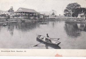 Illinois Decatur Canoeing In Dreamland Park
