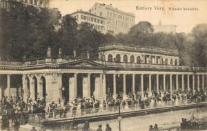 Czech Republic Karlovy Vary Mlynska kolonada 02.22