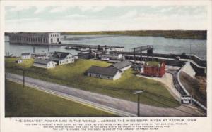 Iowa Keokuk Hydro-Electric Power Plant