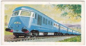 Trade Cards Brooke Bond Tea Transport Through The Ages No 20 Diesel Locomotive