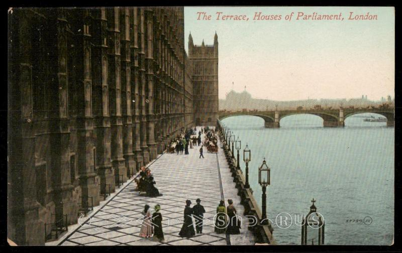 The Terrace, Houses of Parliament, London