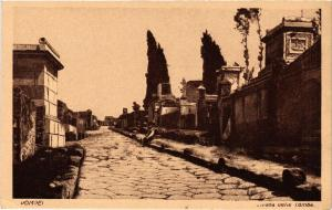CPA AK POMPEI Strada delle Tombe ITALY (527467)
