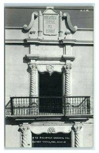 Postcard Biblioteca General del Estado - Oaxaca, Mexico RPPC Y62