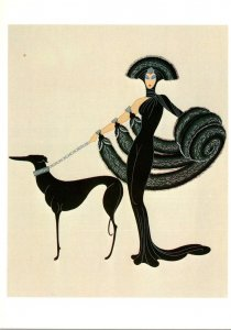 Drawings Erte Symphony In Black 1982