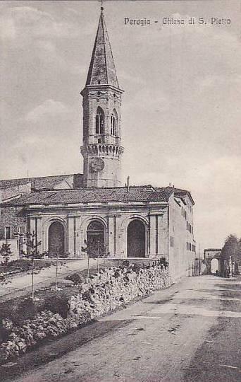 Chiesa Di S. Pietro, Perugia (Umbria), Italy, 1900-1910s