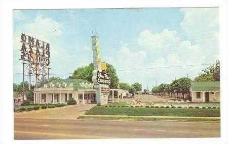 Alamo Plaza Hotel Courts, Nashville, Tennessee, 40-60s