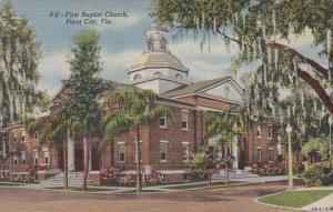 Florida Plant City First Baptist Church Curteich