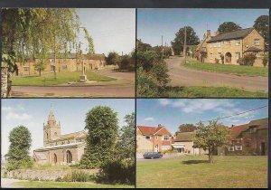 Northamptonshire Postcard - Views of Milton Malsor  H294