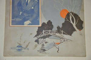WHEN THE LIGHTS ARE SOFT AND LOW 1932 FRANK HAZZARD Freed Tinturin Bridge Sunset
