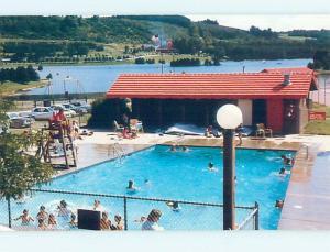 1980's SWIMMING POOL East Otto New York NY ho6167