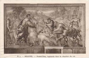 France Beaune Hostel Dieu tapisserie dans la chambre du roi 1934