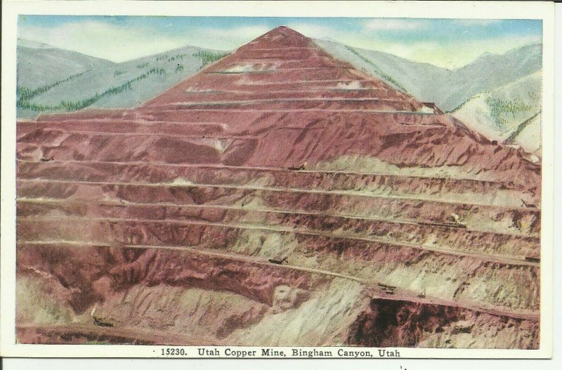 Bingham Canyon, Utah, Utah Copper Mine
