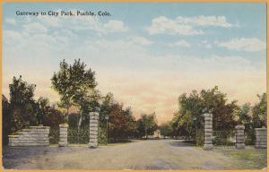 Pueblo, Colo., Gateway to City Park -