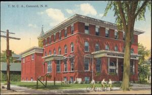 Concord, New Hampshire, Y.M.C.A. Building (1920s) YMCA
