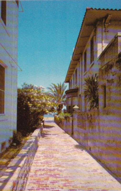 Florida St Augustine Treasure Street Narrowest Street In The United States