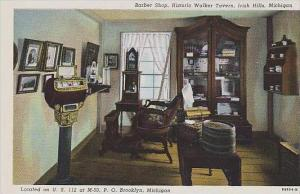 Michigan Irish Hills Stagecoach Barn Historic Walker Tavern Barber Shop