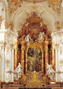 Klosterpfarrkirche Diessen Hochaltar Church Interior view