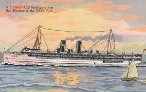 SAN FRANCISCO , California , 00-10s ; Steamer S.S. HARVARD