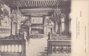 Interieur De l'Hotel De Ville, Salle Des Mariages, Anvers, Antwerp, Belgium, ...